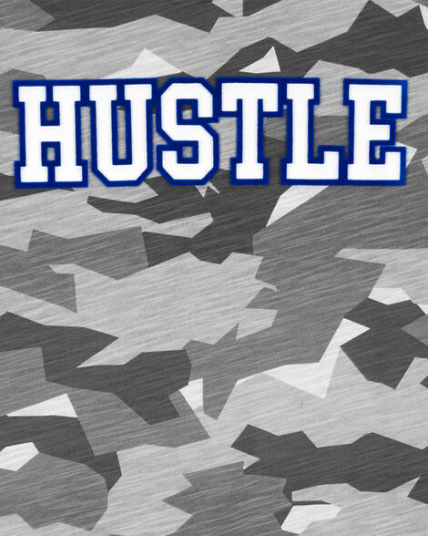 T-shirt camouflage Hustle