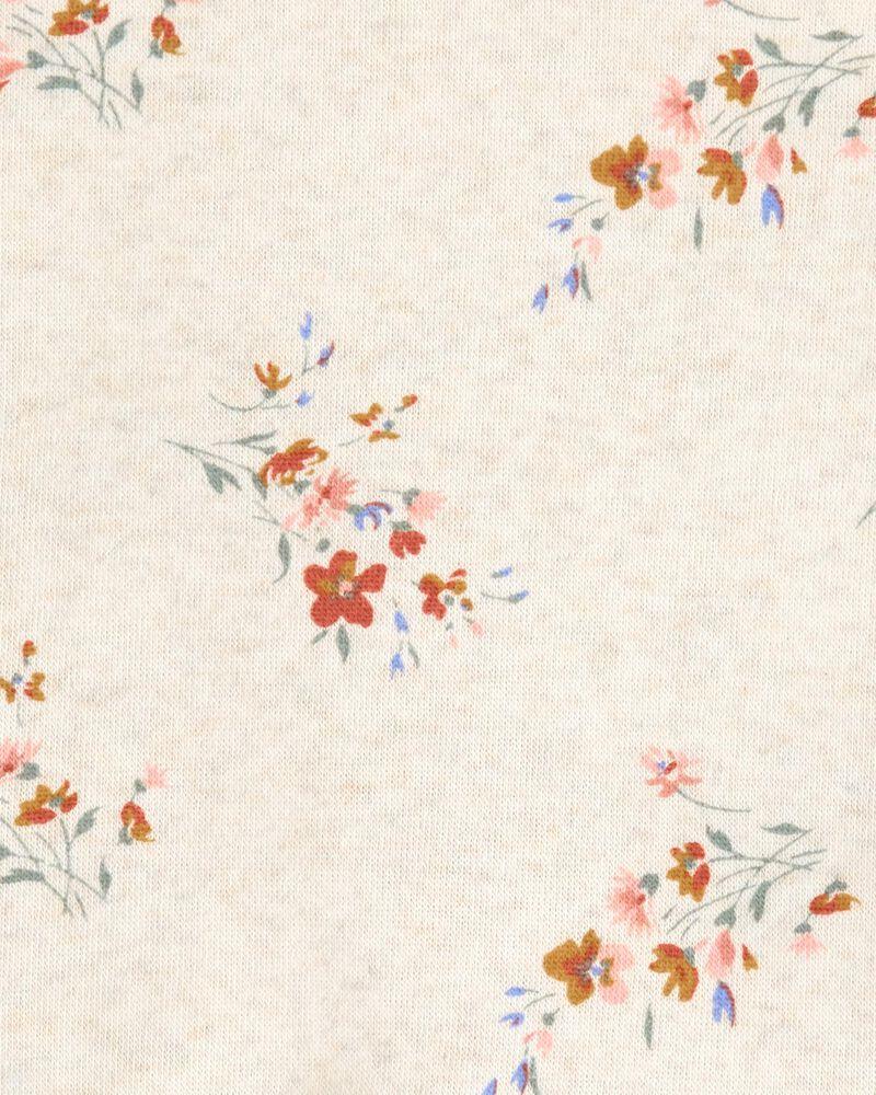 Chandail en molleton fleuri, , hi-res