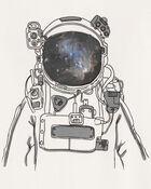 T-shirt astronaute, , hi-res