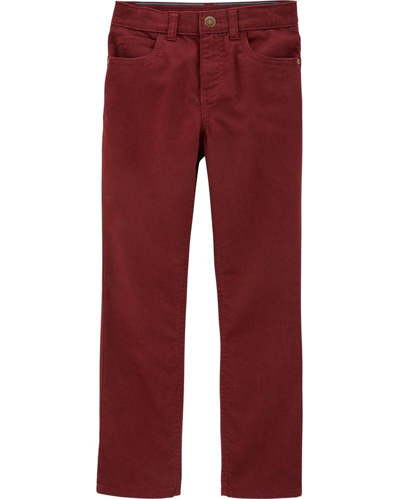 5-Pocket Stretch Pants, , hi-res