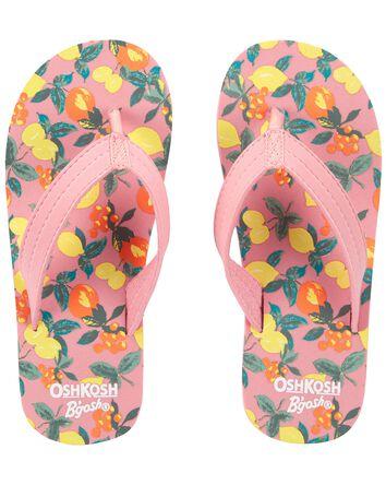 Sandales de plage à agrumes