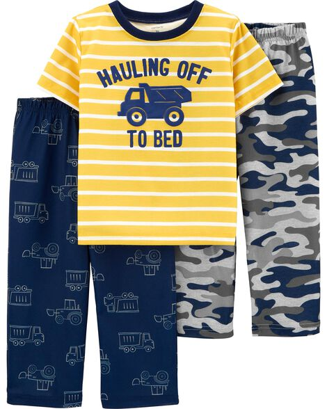3-Piece Truck Poly PJs