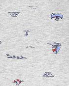 2-Piece Boat Tee & Shortall Set, , hi-res