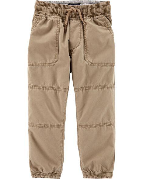 Pantalon de jogging doublé de jersey