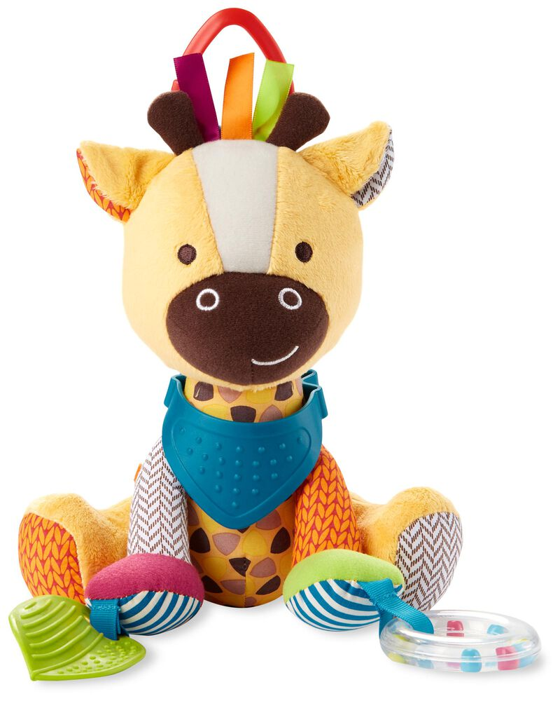 Giraffe Bandana Buddy Activity Toy, , hi-res