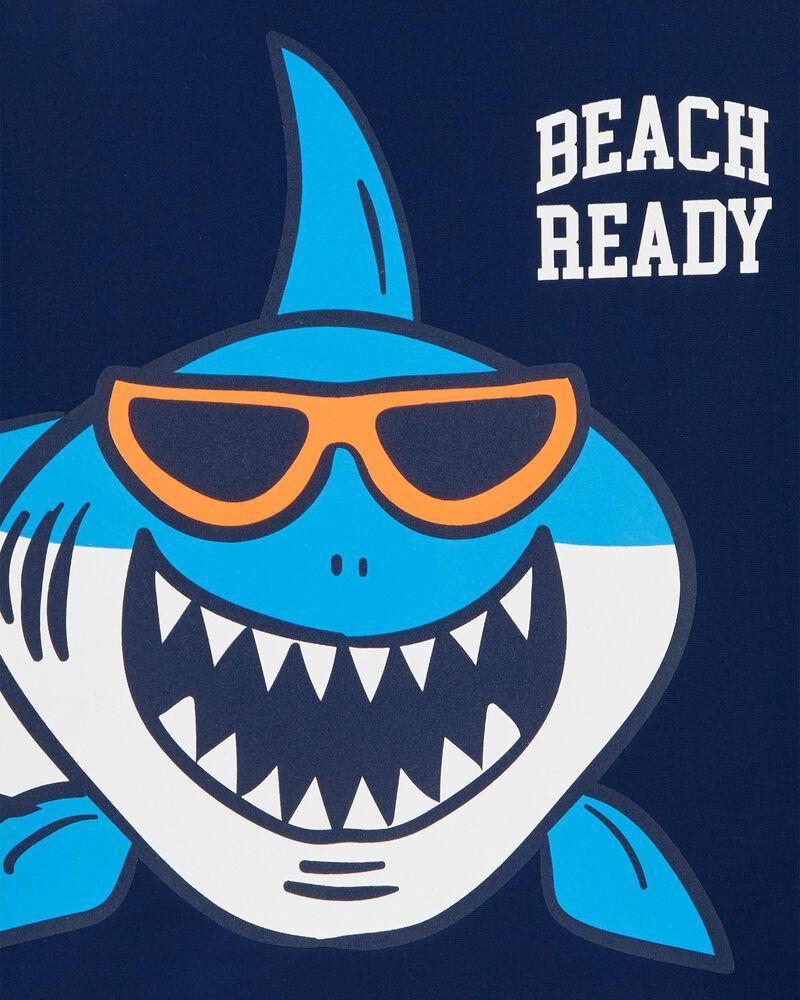 Beach Ready Shark Rashguard, , hi-res