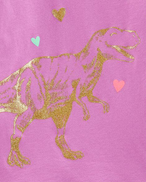Haut à nœud derrière à dinosaure scintillant