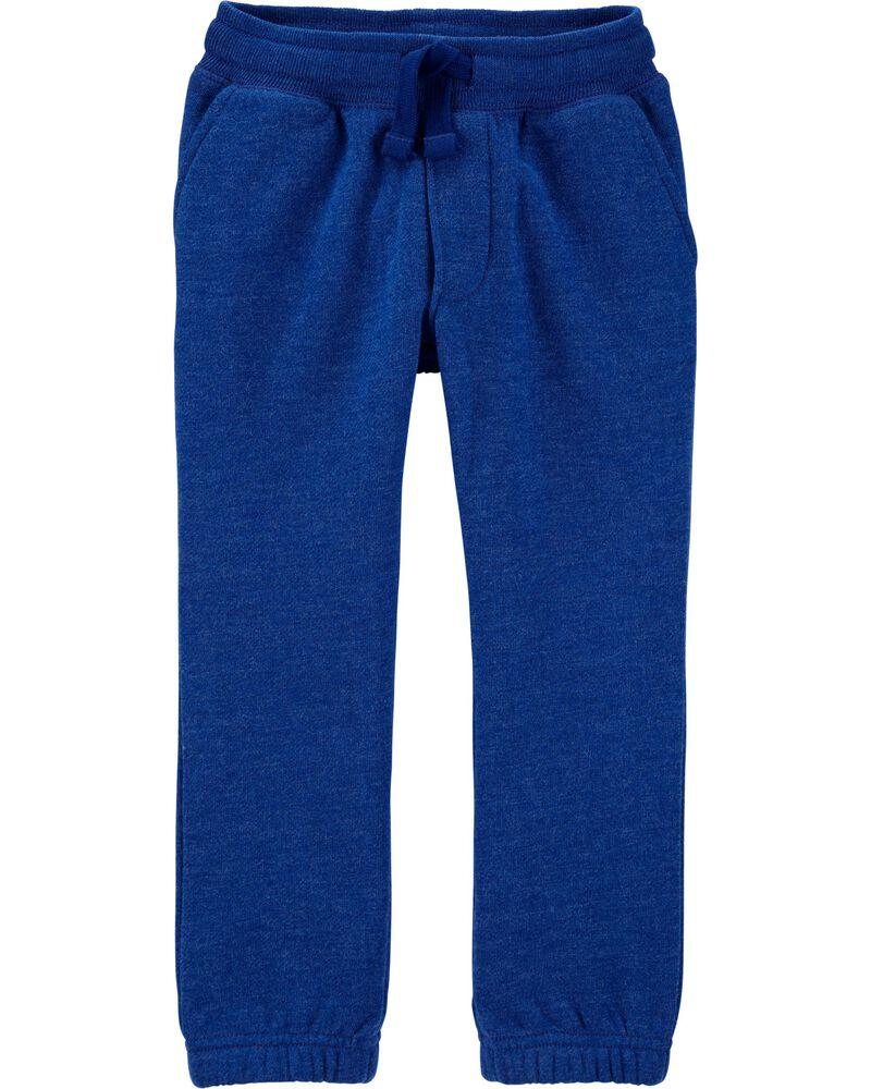 Pantalon de jogging en molleton à logo, , hi-res