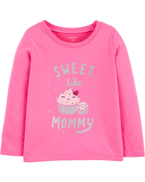 Mommy Cupcake Jersey Tee