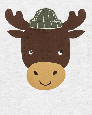 2-Piece Moose French Terry Top & Ca...
