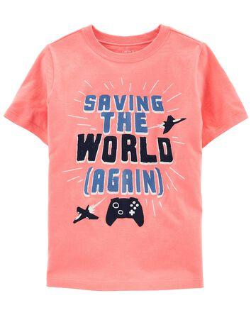 T-shirt en jersey Gamer