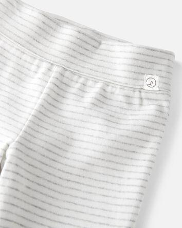Emballage de 2 pantalons en coton b...