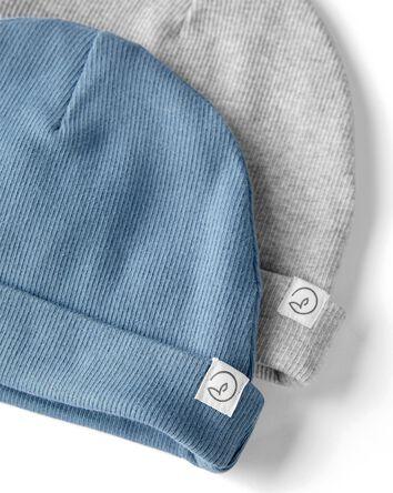 Emballage de 2 bonnets deux plis en...