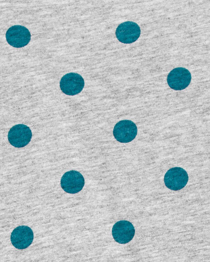 Robe à manches longues en coton, , hi-res