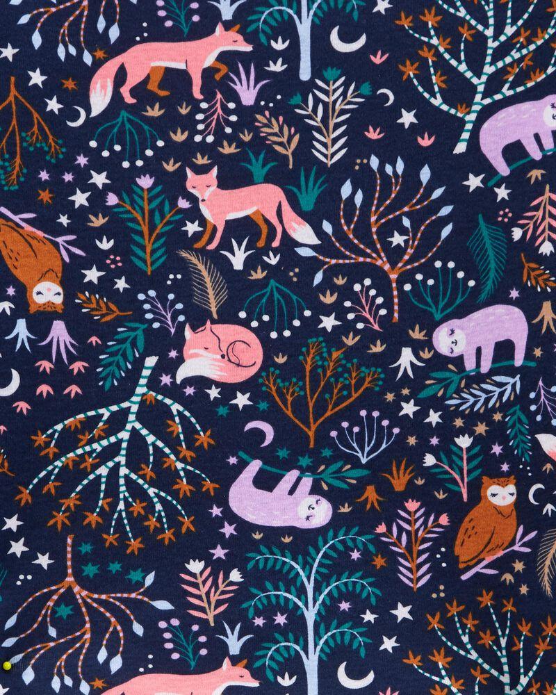 4-Piece Animals 100% Snug Fit Cotton PJs, , hi-res