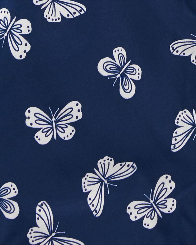 Imperméable doublé de molleton à papillons, , hi-res