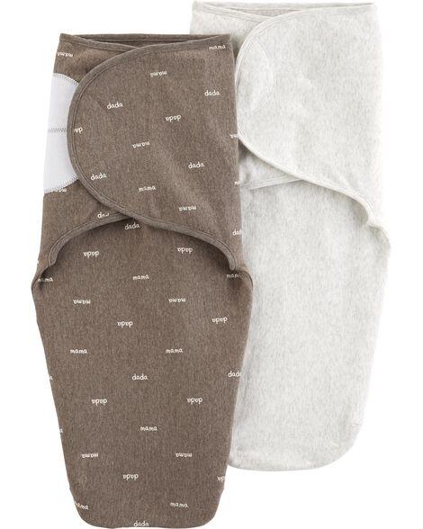 2-Pack Babysoft Swaddle Blankets