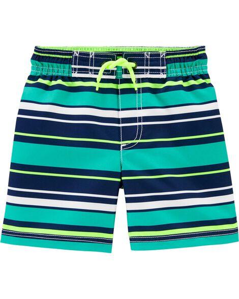 Colorblock Swim Trunks