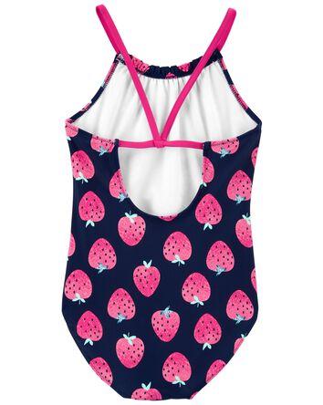 Strawberry 1-Piece Swimsuit