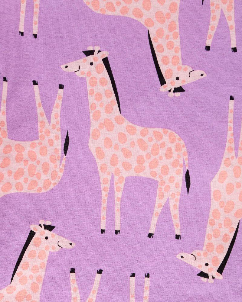 4-Piece Giraffe 100% Snug Fit Cotton PJs, , hi-res