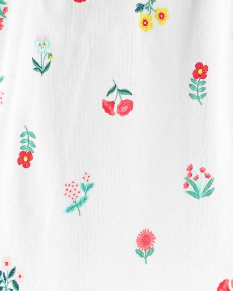 2-Piece Floral Bodysuit Pant Set