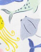 1-Piece Whales 100% Snug Fit Cotton Footie PJs, , hi-res