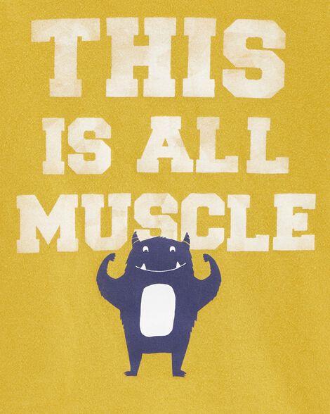 T-shirt en jersey Muscle Monster