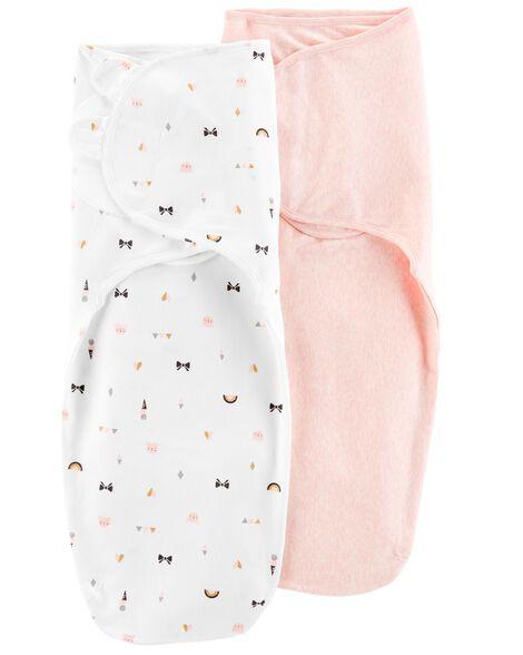 2-Pack Babysoft Easy Swaddles