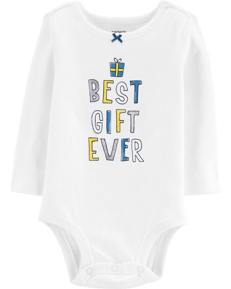 2-Piece Best Gift Ever Bodysuit & Tutu Pant Set