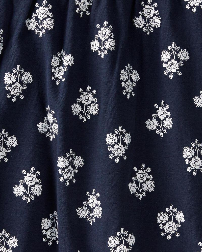 Robe croisée devant en coton biologique, , hi-res