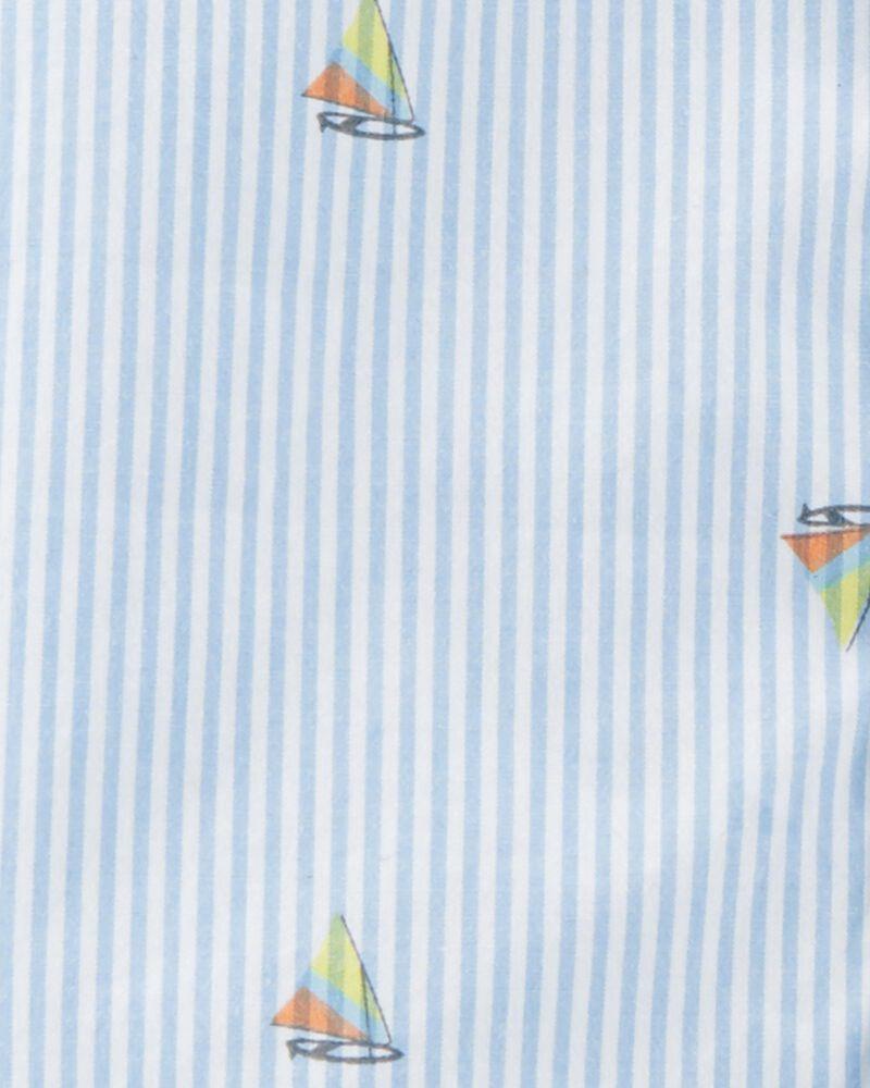 Chemise boutonnée à voiliers, , hi-res
