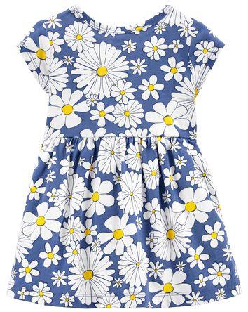 Daisy Jersey Dress