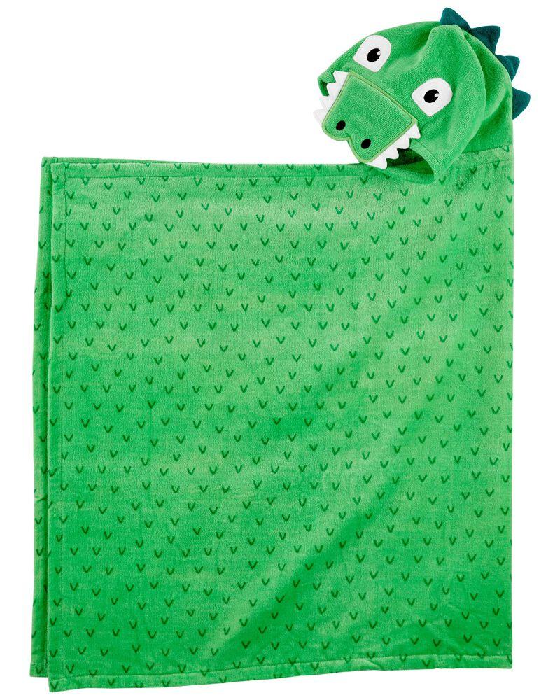 Serviette en tissu-éponge à dinosaure, , hi-res
