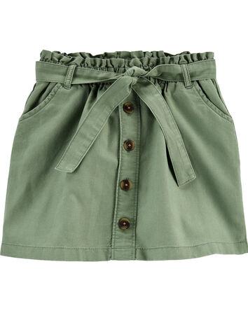 Ruffle Waist Skirt