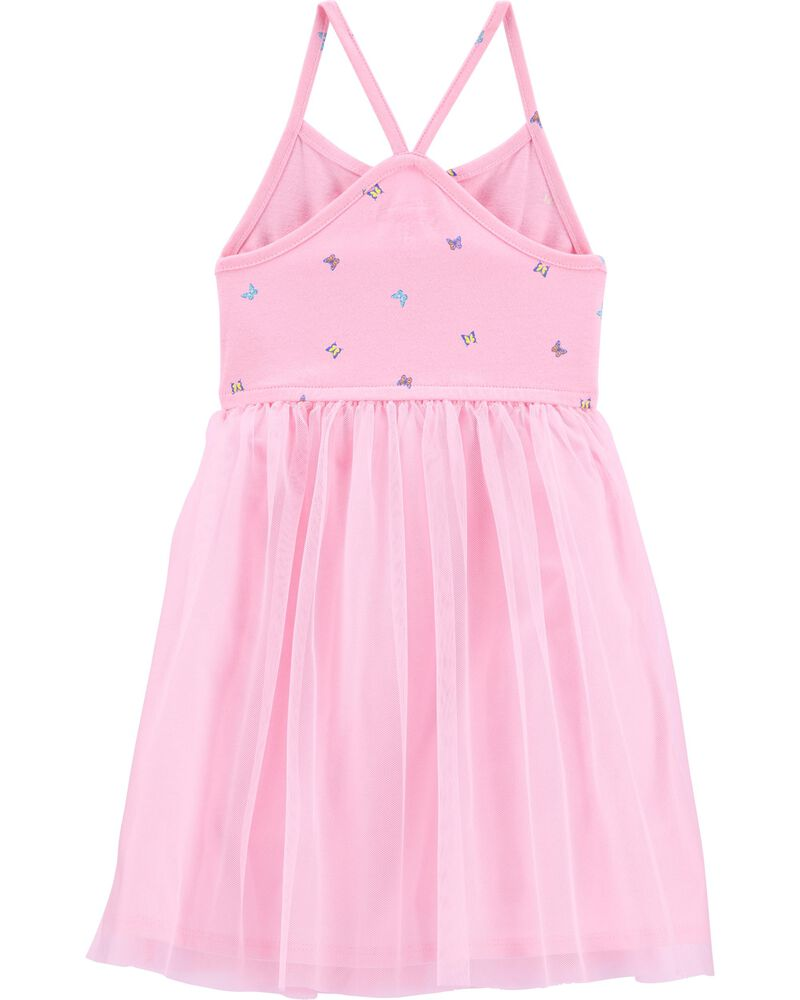 Butterfly Tulle Dress, , hi-res