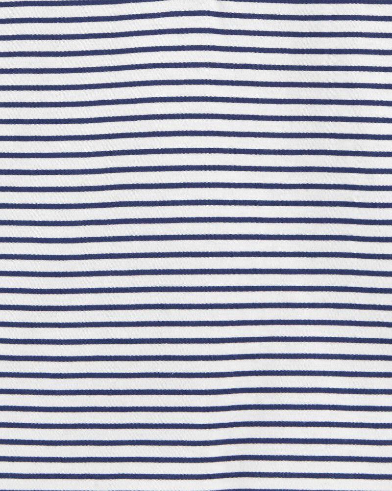 Striped Flowy Top, , hi-res