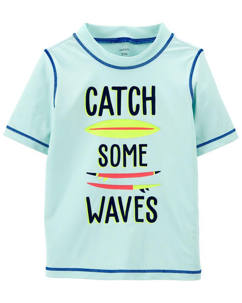 Wave Rashguard, , hi-res