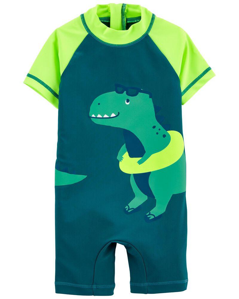 Dinosaur 1-Piece Rashguard, , hi-res