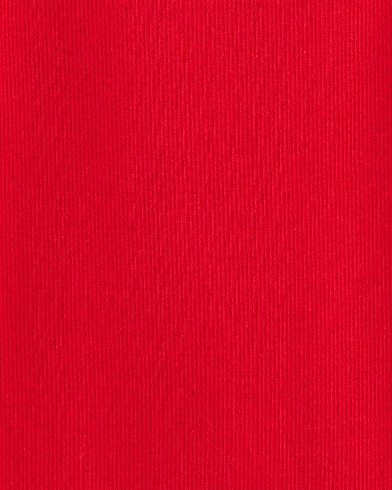 Ensemble 2 pièces t-shirt à manches longues et jupe-salopette à motif vichy, , hi-res