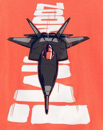 T-shirt en jersey Jet