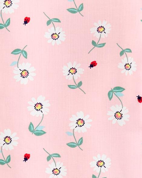Combinaison en popeline fleurie