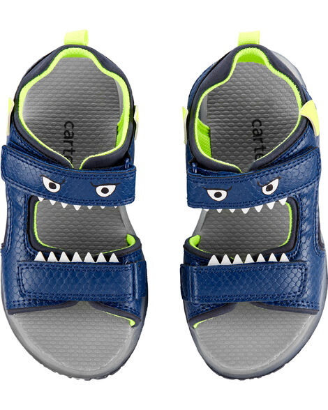 Sandales clignotantes à monstre