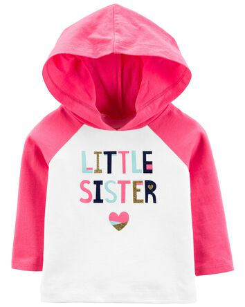Little Sister Hooded Tee