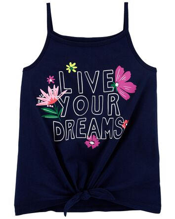 Live Your Dreams Jersey Tank