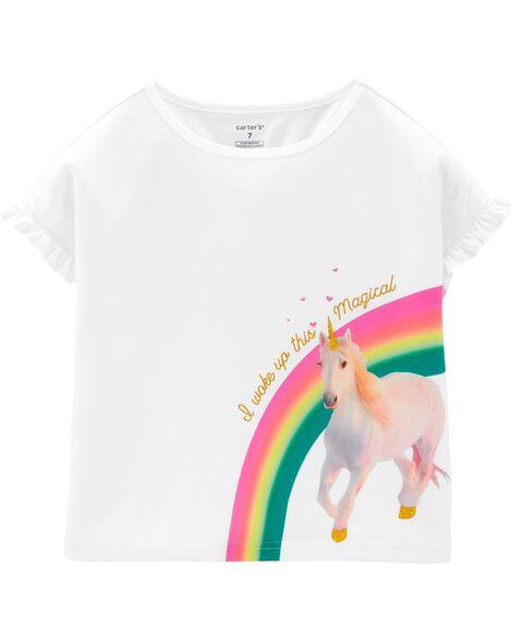 Unicorn Poly Sleep Tee