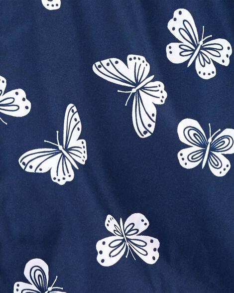 Coupe-vent à papillons