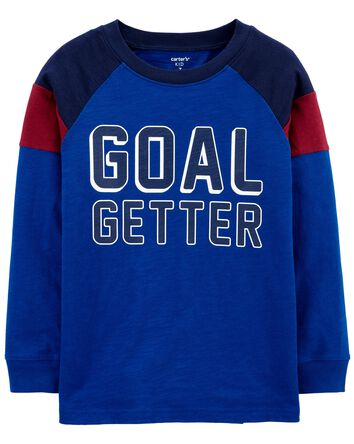 Goal Getter Slub Jersey Tee