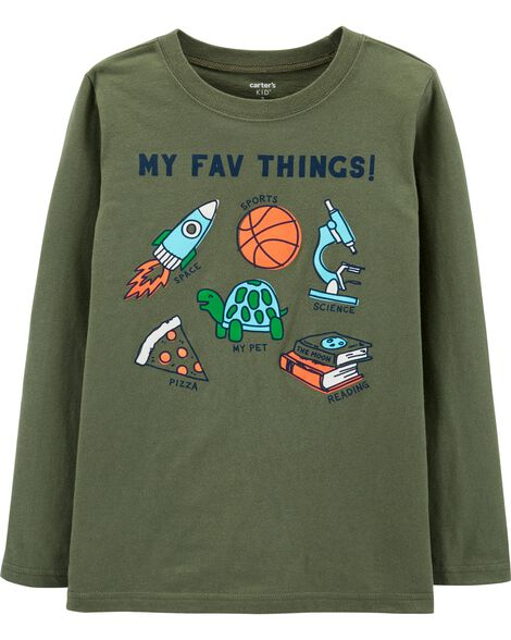 My Fav Things Jersey Tee