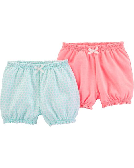 2-Pack Pull-On Bubble Pants