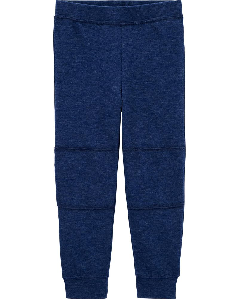 Pull-On Slub Jersey Pants, , hi-res